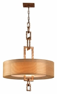 Troy F2875 Link Large 4-light Contemporary Pendant Lighting in Bronze Leaf