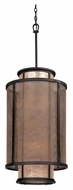 Troy F3103 Copper Mountain Old Silver Finish 18 Wide Drum Pendant Light