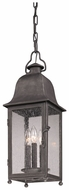 Troy F3217 Larchmont Pewter 23 Inch Tall Outdoor Hanging Lamp