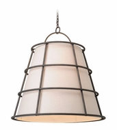 Troy F3908 Habitat Liberty Rust Finish 37.5  Tall Drop Ceiling Lighting
