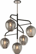 Troy F4297 Odyssey Hand Worked Wrought Iron Flush Mount Lighting
