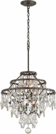 Troy F4316 Meritage Hand Worked Wrought Iron Pendant Lighting Fixture