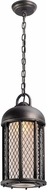 Troy F4487 Signal Hill Hand Worked Iron Outdoor Mini Hanging Light