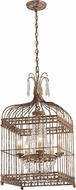 Troy F4545 Amelie Hand Worked Wrought Iron Foyer Light Fixture
