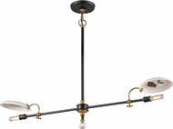 Troy F4692 Dinner Date Hand Worked Wrought Iron Kitchen Island Lighting