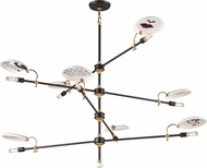 Troy F4698 Dinner Date Hand Worked Wrought Iron Chandelier Light