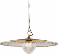 Troy F4707 Fly Boy Hand Worked Iron Brass And Aluminum 32 Drop Lighting Fixture