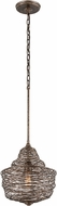 Troy F4773 Shelter Hand Worked Wrought Iron Pendant Lighting