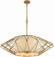 Troy F4866 Calliope Contemporary Rustic Gold Leaf Extra Large Drop Lighting