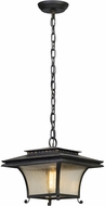Troy F5147 Grammercy Asian Forged Iron Outdoor Pendant Lighting Fixture