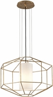 Troy F5216 Silhouette Contemporary Gold Leaf Ceiling Pendant Light