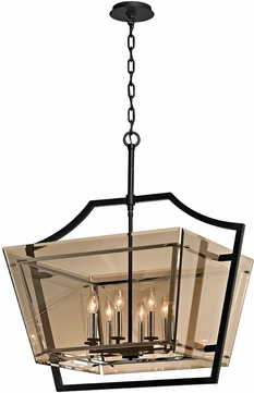 Troy F5599 Domain Modern Forged Iron Foyer Lighting