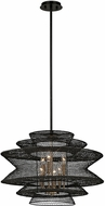 Troy F6016 Kokoro Modern Kokoro Bronze Drop Lighting Fixture
