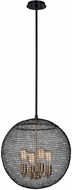 Troy F6024 Tsuki Contemporary Kokoro Bronze Lighting Pendant