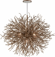 Troy F6098 Sierra Contemporary Distressed Bronze 50  Pendant Hanging Light