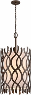 Troy F6108 Mai Tai Contemporary Cottage Bronze 22  Ceiling Light Pendant