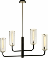 Troy F6275 Aeon Contemporary Carbide Black Polished Nickel Kitchen Island Light