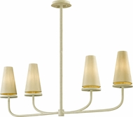 Troy F6289 Marcel White Island Light Fixture