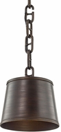 Troy F6683 Admirals Row Pompeii Bronze Mini Pendant Lighting