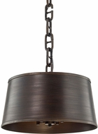 Troy F6684 Admirals Row Pompeii Bronze Pendant Light