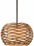 Troy F6747 Balboa Bronze 28  Hanging Pendant Lighting