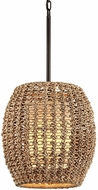 Troy F6754 Conga Tidepool Bronze Hanging Light Fixture