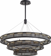 Troy F6866 Fuze Contemporary Modern Bronze LED Hanging Pendant Lighting