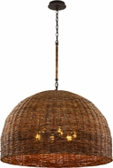 Troy F6906 Huxley Tidepool Bronze 43.75  Hanging Light Fixture