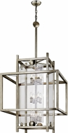 Troy F7135 Crosby Contemporary Antique Silver Leaf Entryway Light Fixture