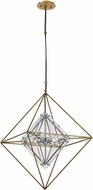Troy F7145 Epic Contemporary Gold Leaf Foyer Light Fixture