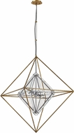 Troy F7146 Epic Modern Gold Leaf Foyer Lighting Fixture