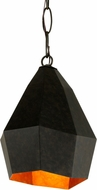 Troy F7243 Indigo Aged Bronze Mini Pendant Light Fixture