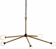 Troy F7255 Nomad Classic Bronze LED Ceiling Chandelier