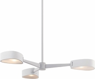 Troy F7343 Allisio Textured White 35.5  Lighting Chandelier