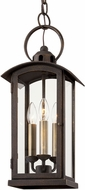 Troy F7447 Chaplin Traditional Vintage Bronze Outdoor Entryway Light Fixture