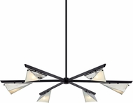 Troy F7466 Kite Carbide Black and Polished Nickel Ceiling Chandelier