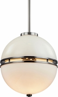 Troy F7574 Split Smoked Chrome 13  Drop Ceiling Lighting