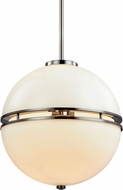 Troy F7575 Split Smoked Chrome 16.25  Ceiling Light Pendant