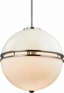 Troy F7576 Split Smoked Chrome 20  Ceiling Pendant Light