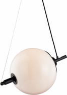 Troy F7585 Nova Modern Anodized Black Drop Lighting Fixture