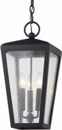 Troy F7607 Mariden Textured Black Exterior Foyer Lighting