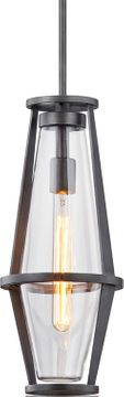 Troy F7617 Prospect Contemporary Graphite Outdoor Foyer Light Fixture