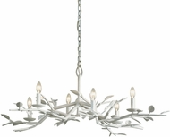 Troy F7626 Aubrey Gesso White 42  Chandelier Lighting