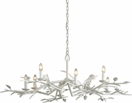 Troy F7628 Aubrey Gesso White 49.75  Lighting Chandelier