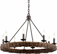 Troy F7636 Nest Brooklyn Bronze 31.75  Chandelier Light
