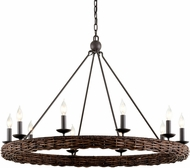 Troy F7637 Nest Brooklyn Bronze 40.5  Ceiling Chandelier