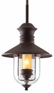Troy F9362NB Old Town Nautical Outdoor Pendant Light - 10.5 inches wide