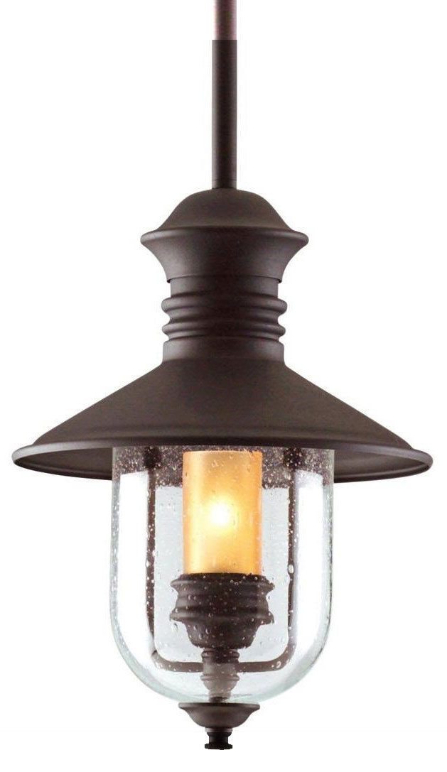 Troy F9363nb Old Town Nautical Outdoor Pendant Light 12 5 Inches Wide