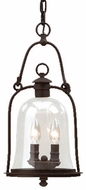 Troy F9466NB Owings Mill Outdoor Pendant Fixture - 8.75 inches wide