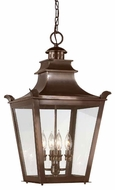 Troy F9499EB Dorchester Traditional Outdoor Pendant Light - 14 inches wide